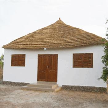 Inauguration de la salle polyvalentedu centre de développement communautaire de Bala
