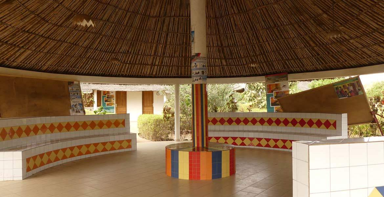 Espace d'accueil des patients, centre de Bala