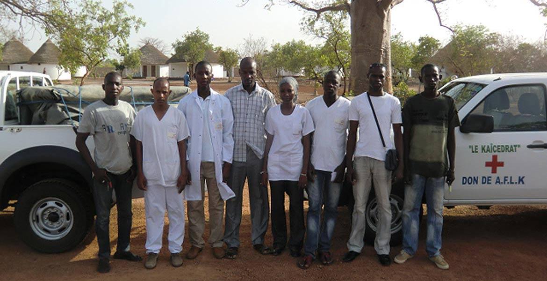 L'équipe du centre de Bala